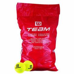 Resim Wilson Antrenman Tenis Topu Team W 96lı Poşette  (WRT131100)