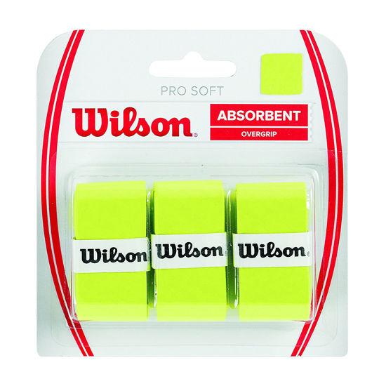 Wilson Overgrip Pro Soft  3'lü Lime-Yeşil Raket Grip (WRZ4040LI). ürün görseli