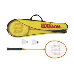 Resim Wilson Badminton Raket Seti 2 Parça ( WRT8755003 )