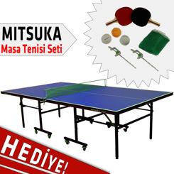 Resim Mitsuka Fight Masa Tenis Masası + 2 Raket + 3 Top + Ağ-Demir Hediyeli