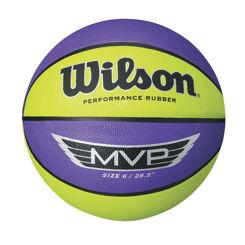Resim Wilson Basket Topu MVP 295  PUR/LİME (WTB9067XB)