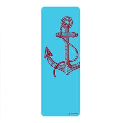 Resim Merrithew Health & Fitness Mat - Pilates & Yoga Mat, Anchor (blue) ST-06276